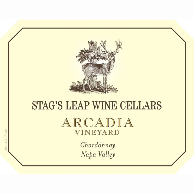 Stag's Leap Wine Cellars Arcadia Chardonnay 2009 Front Label
