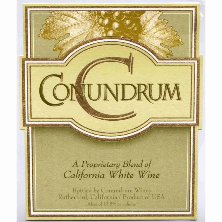 Conundrum White Blend 2011 Front Label