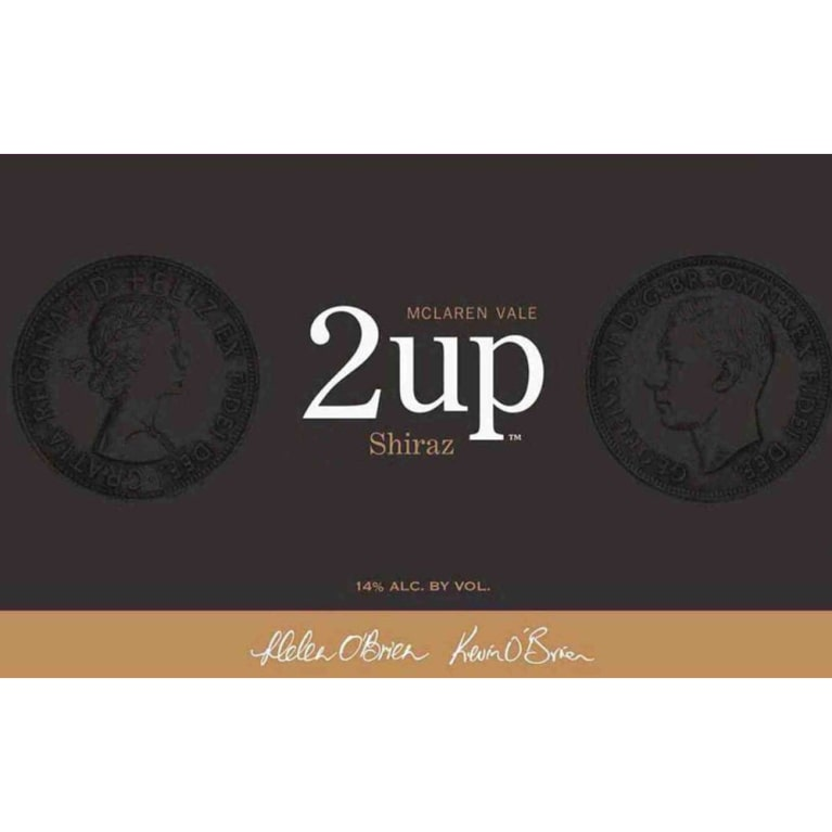 2 up Shiraz 2011 Front Label