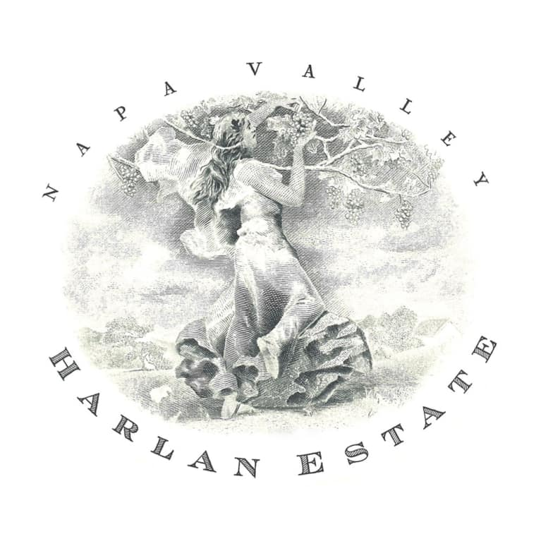 Harlan Estate 2008 Front Label