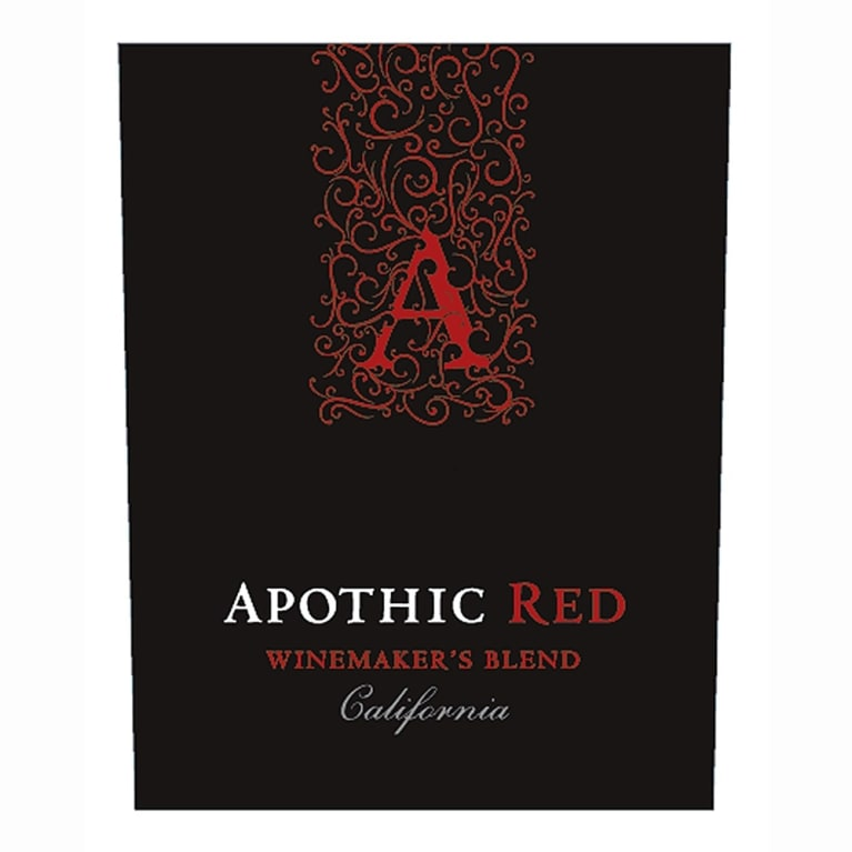Apothic Red Blend 2011 Front Label