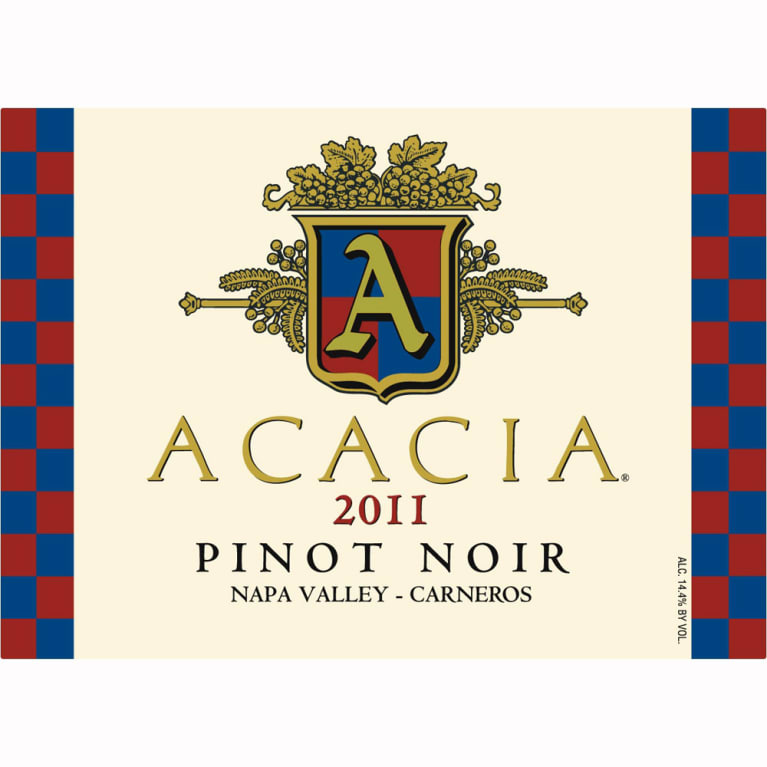 Acacia Carneros Pinot Noir 2011 Front Label