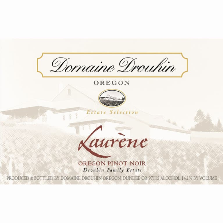 Domaine Drouhin Oregon Laurene Pinot Noir 2009 Front Label
