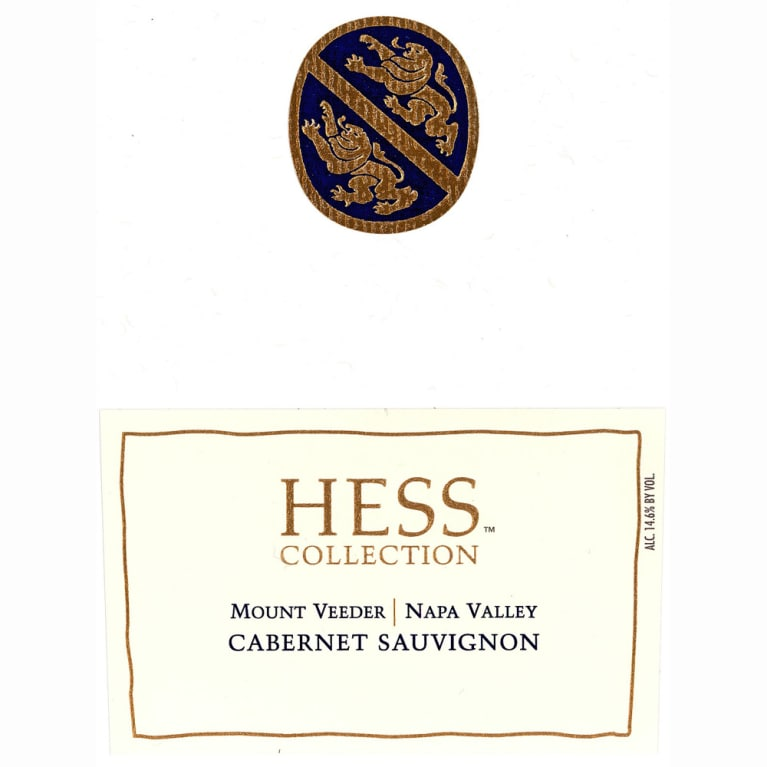 Hess Collection Mount Veeder Cabernet Sauvignon 2010 Front Label
