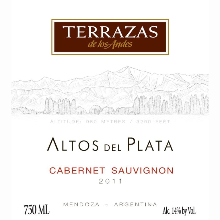 Terrazas De Los Andes Altos Del Plata Cabernet Sauvignon 2011