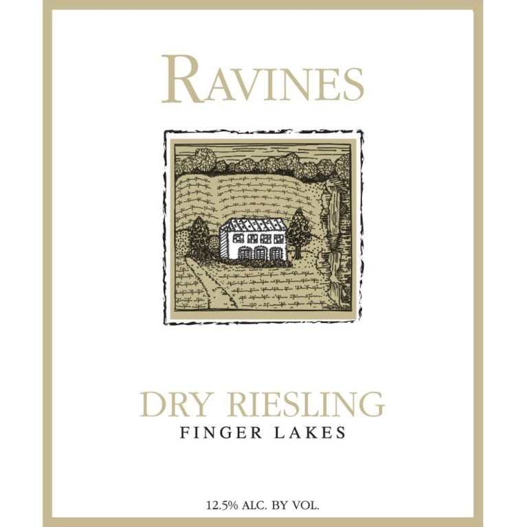 Ravines Dry Riesling 2011 Front Label