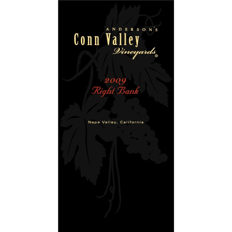 Anderson's Conn Valley Vineyards Right Bank Proprietary Red Blend 2009 Front Label
