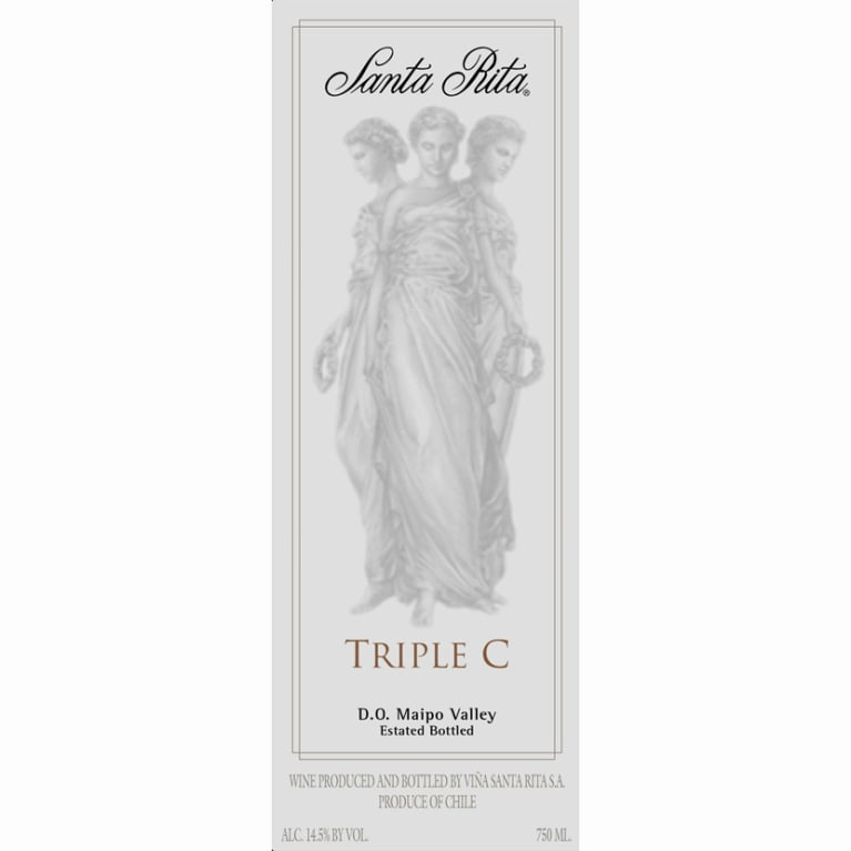Santa Rita Triple C 2007 Front Label