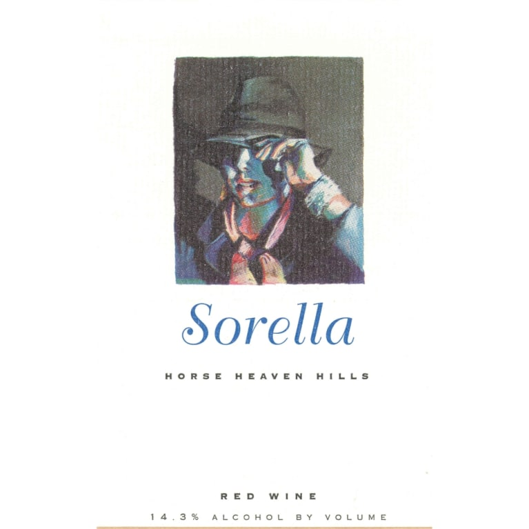 Andrew Will Winery Sorella 2004 Front Label