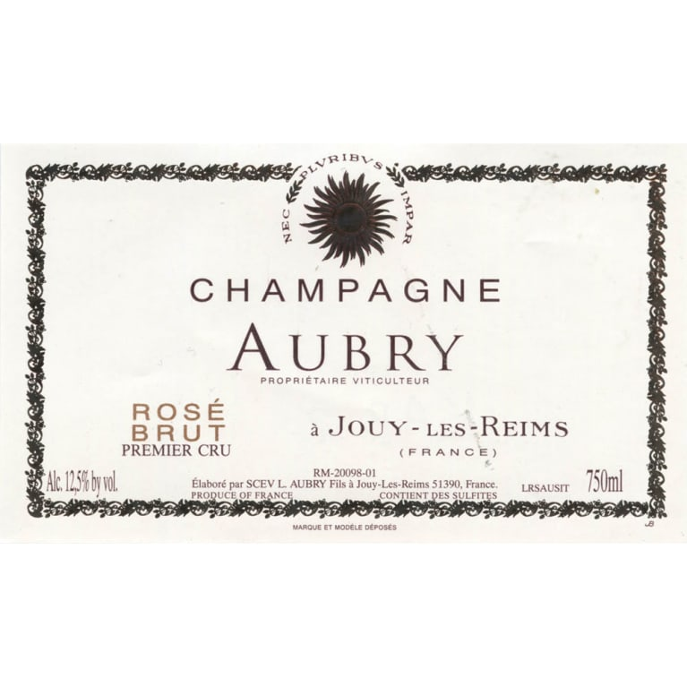 Aubry Rose Front Label