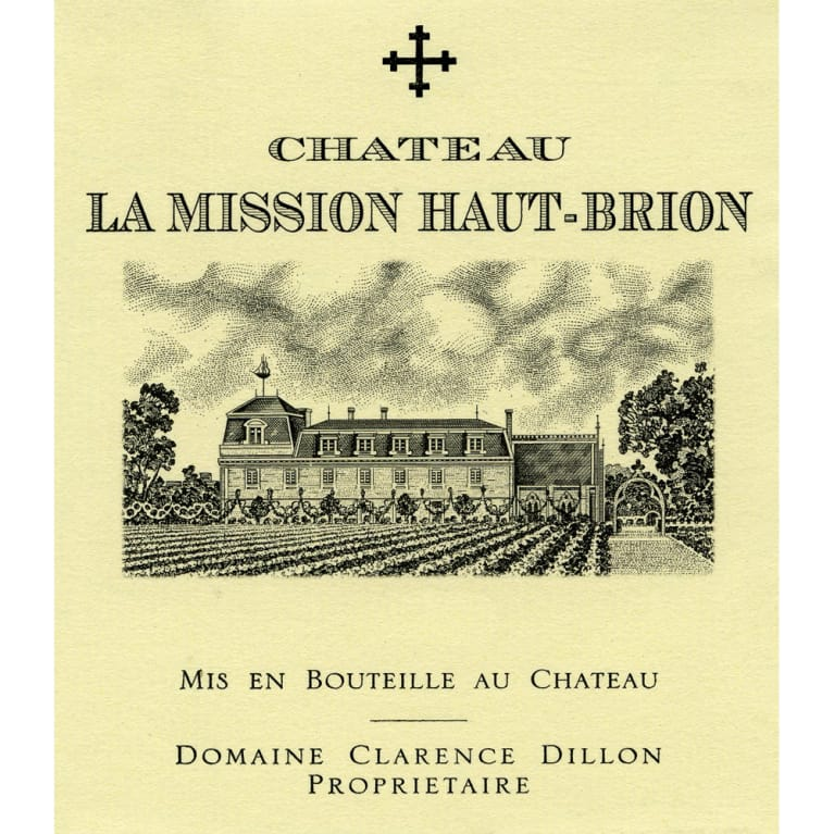 Chateau La Mission Haut-Brion  2010 Front Label