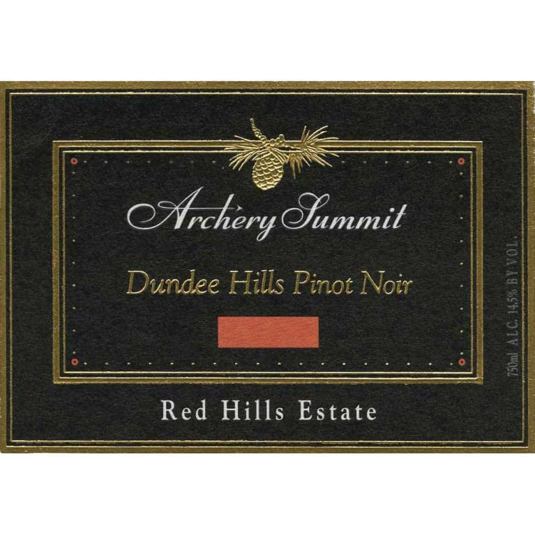 Archery Summit Red Hills Estate Pinot Noir 2010 Front Label