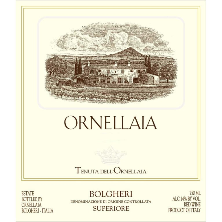 Ornellaia  2010 Front Label