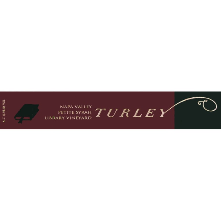 Turley Library Petite Syrah 2008 Front Label
