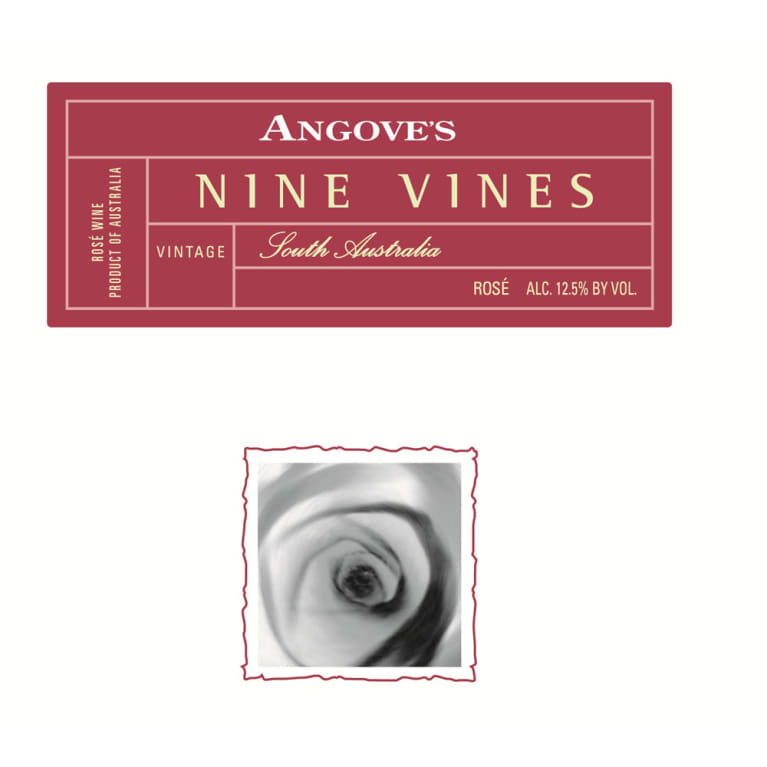 Angove Family Winemakers Nine Vines Rose 2013 Front Label