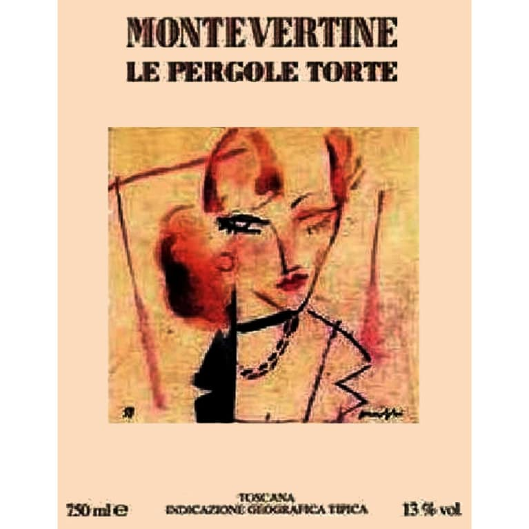 Montevertine Le Pergole Torte 2009 Front Label