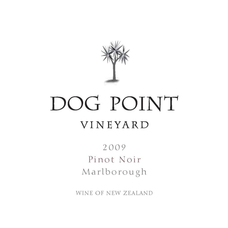 Dog Point Vineyard Pinot Noir 2009 Front Label