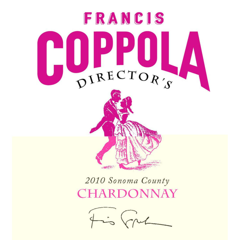 Francis Ford Coppola Director's Chardonnay 2010 Front Label