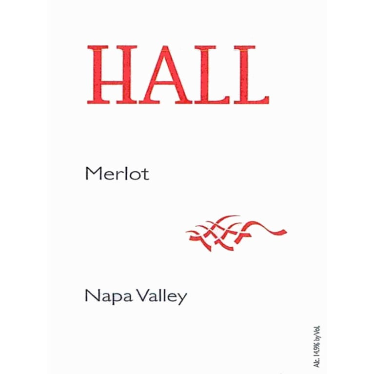 Hall Napa Valley Merlot 2010 Front Label