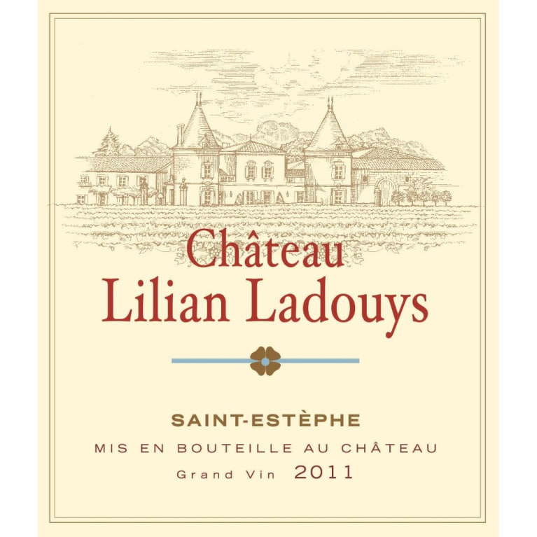 Chateau Lilian Ladouys  2011 Front Label