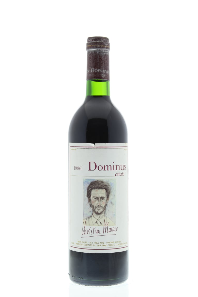 Dominus Estate 1986 Front Bottle Shot