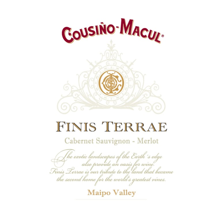 Cousino Macul Finis Terrae 2010 Front Label