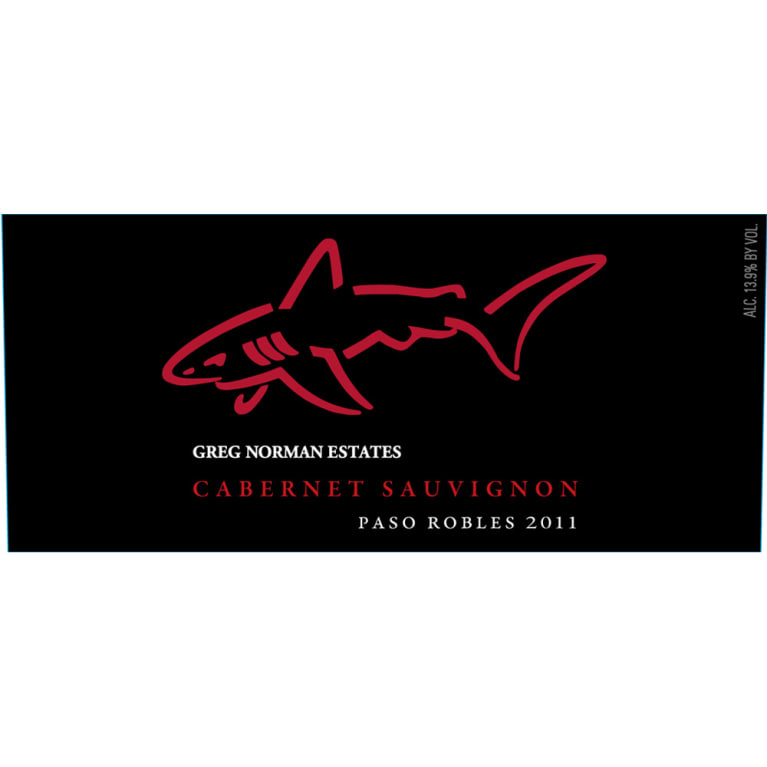 Greg Norman Estates California Estates Cabernet Sauvignon 2011 Front Label
