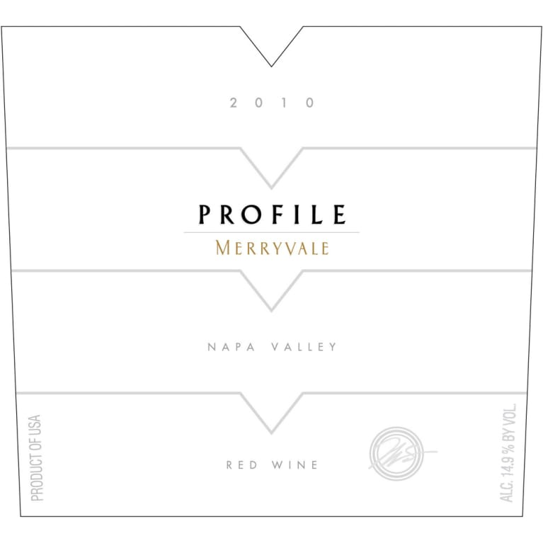 Merryvale Profile 2010 Front Label