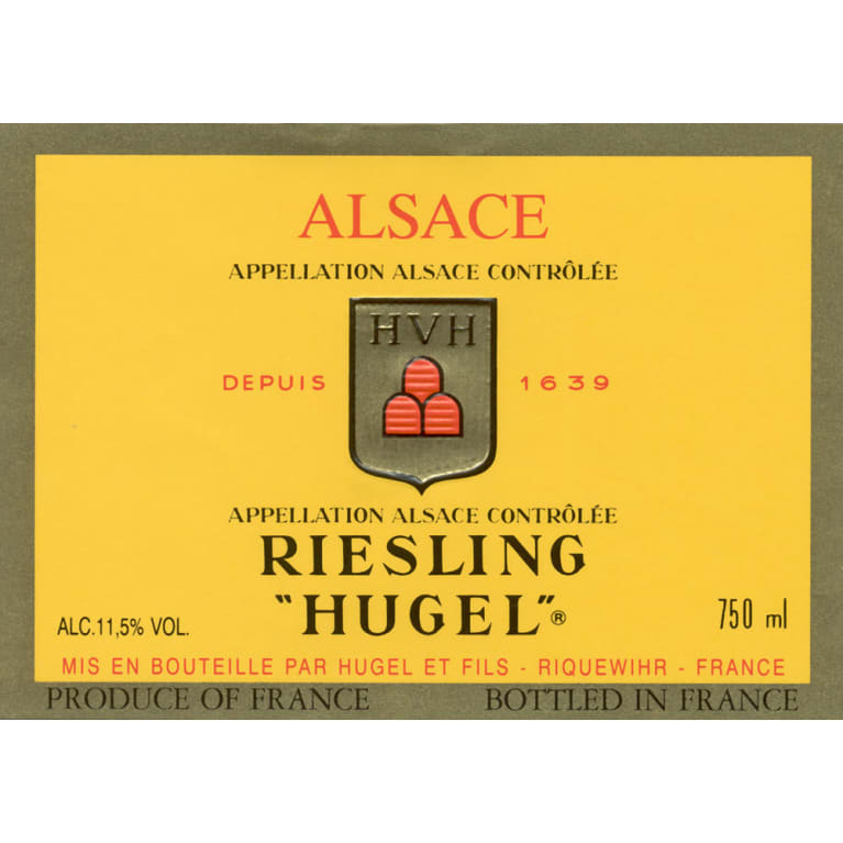 Hugel Classic Riesling 2011 Front Label