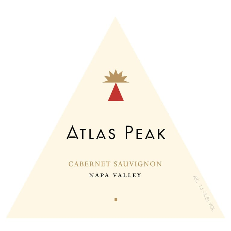 Atlas Peak Napa Valley Cabernet Sauvignon 2010 Front Label