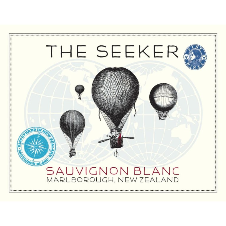 The Seeker Sauvignon Blanc 2013 Front Label