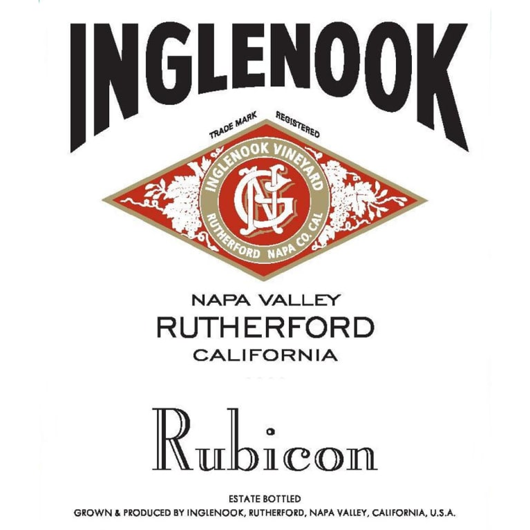 Inglenook Rubicon (375ML half-bottle) 2010 Front Label