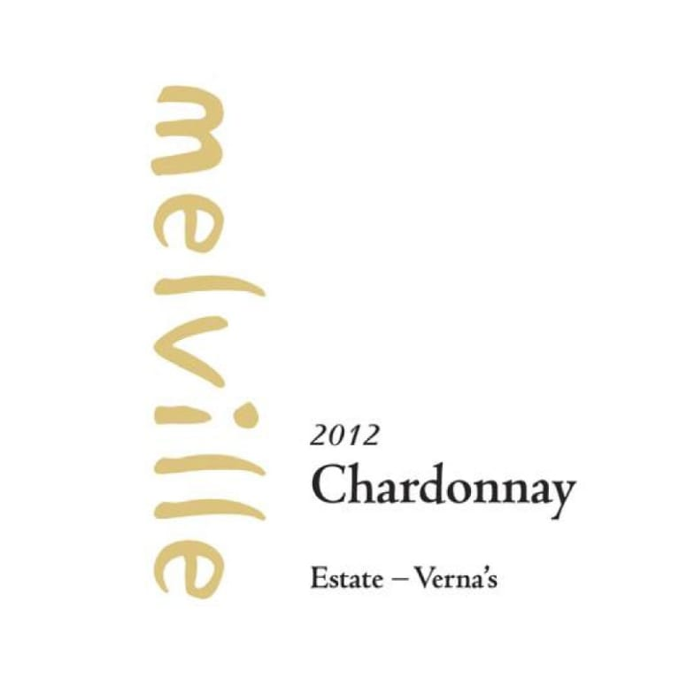 Melville Verna's Chardonnay 2012 Front Label