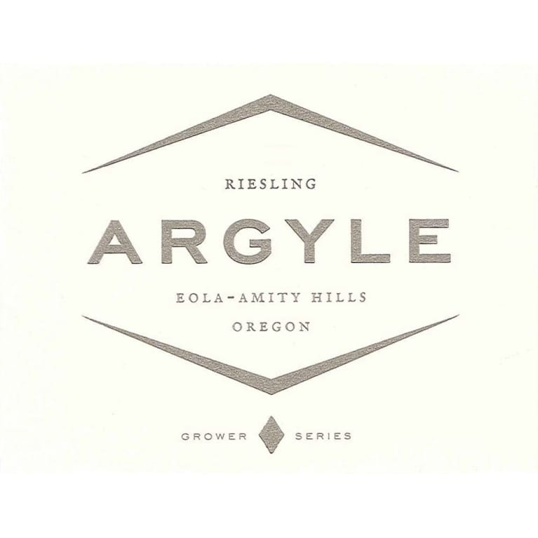 Argyle Riesling 2012 Front Label
