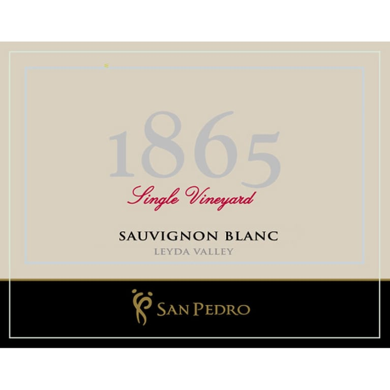 1865 Single Vineyard Sauvignon Blanc 2012 Front Label