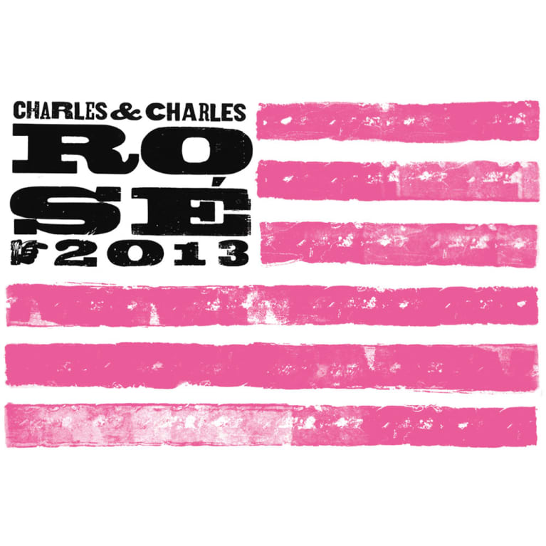 Charles & Charles Rose 2013 Front Label