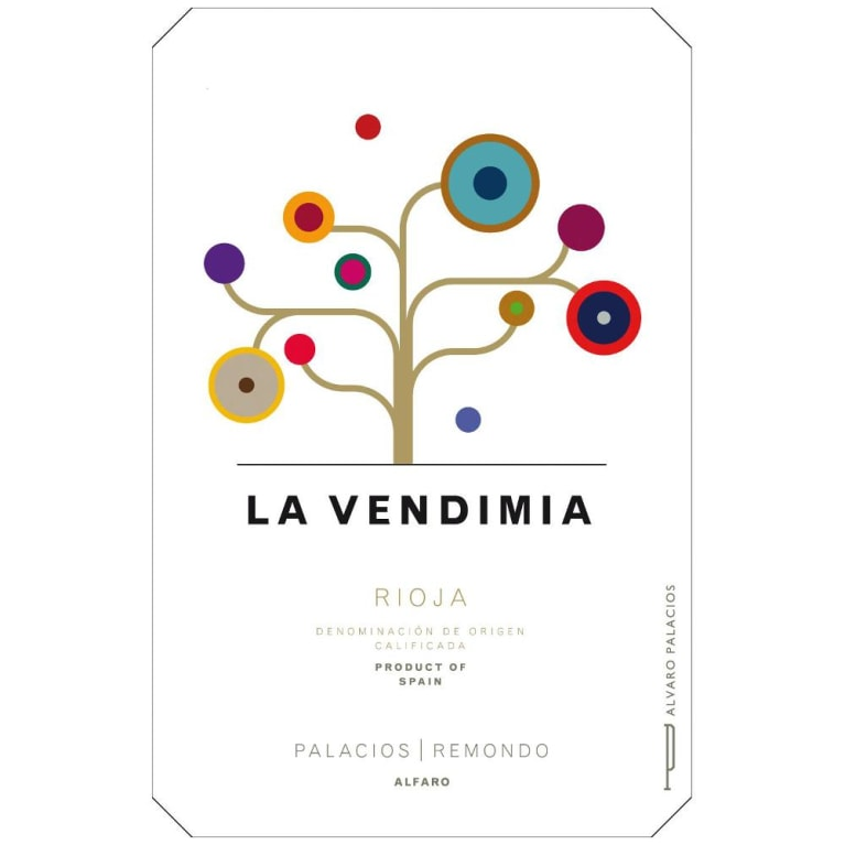 Palacios Remondo La Vendimia 2012