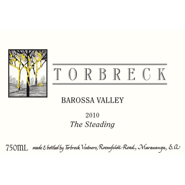 Torbreck The Steading 2010 Front Label