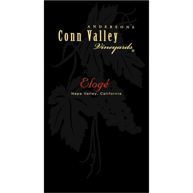 Anderson's Conn Valley Vineyards Eloge 2010 Front Label