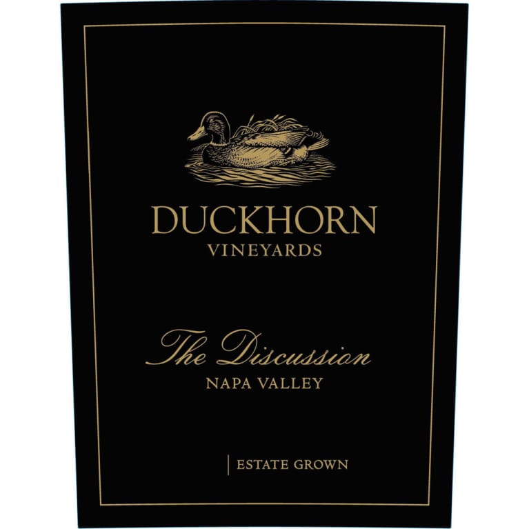 Duckhorn The Discussion 2011 Front Label