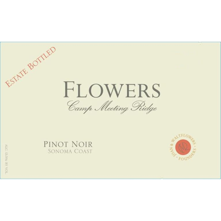 Flowers Camp Meeting Ridge Pinot Noir 2011 Front Label