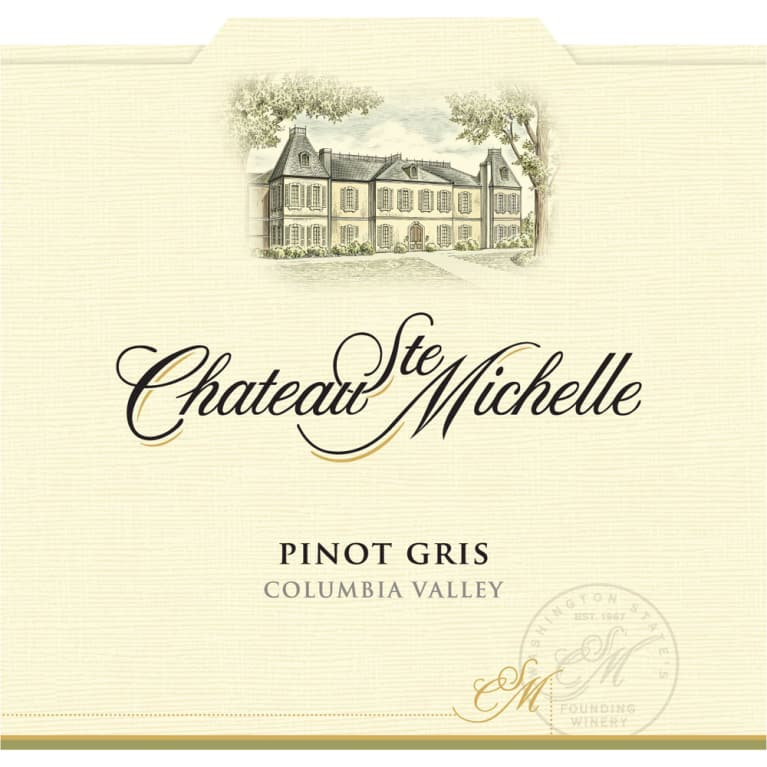 Chateau Ste. Michelle Pinot Gris 2013 Front Label