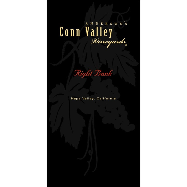 Anderson's Conn Valley Vineyards Right Bank Proprietary Red Blend 2011 Front Label