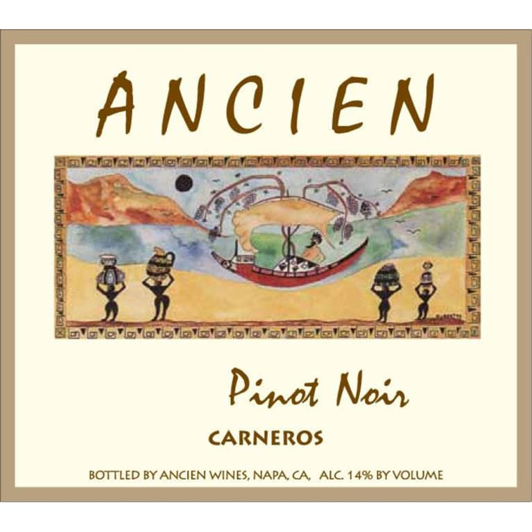 Ancien Wines Carneros Pinot Noir 2012 Front Label