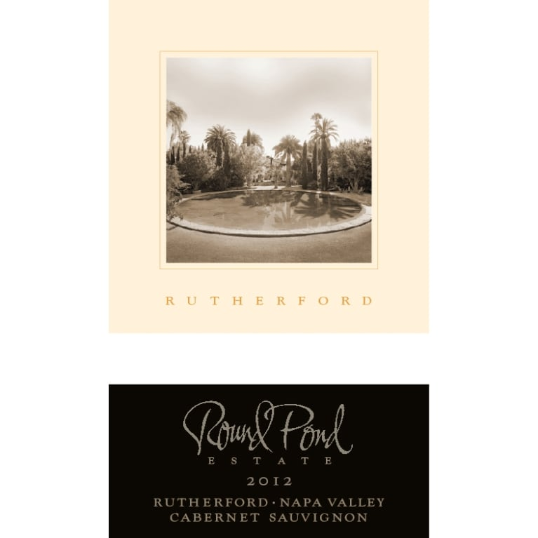 Round Pond Estate Rutherford Cabernet Sauvignon 2012 Front Label