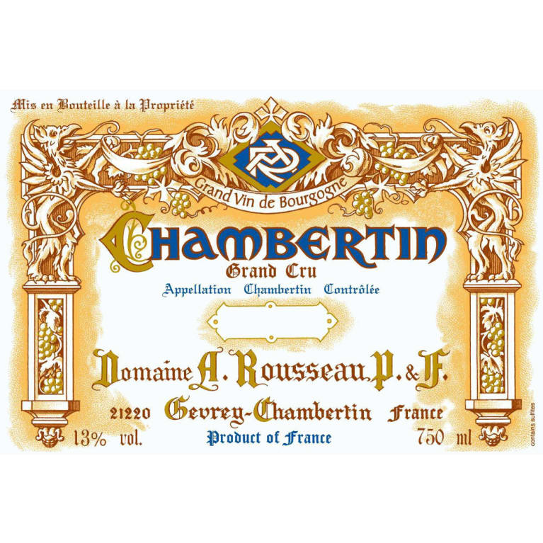 Domaine Armand Rousseau Chambertin Grand Cru 2011 Front Label