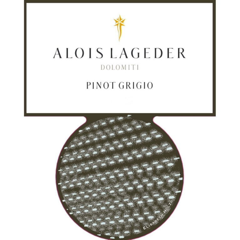 Alois Lageder Dolomitti Pinot Grigio 2013 Front Label