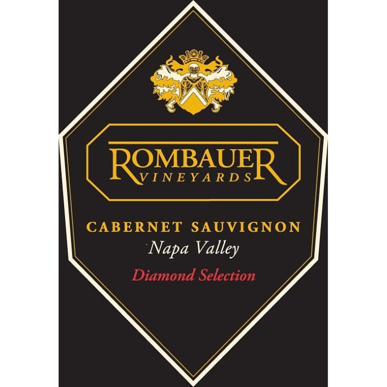 Rombauer Diamond Selection Cabernet Sauvignon 2010 Front Label