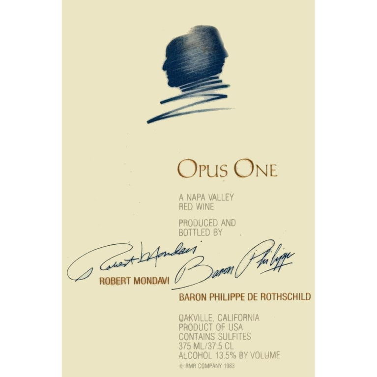 Opus One  2011 Front Label