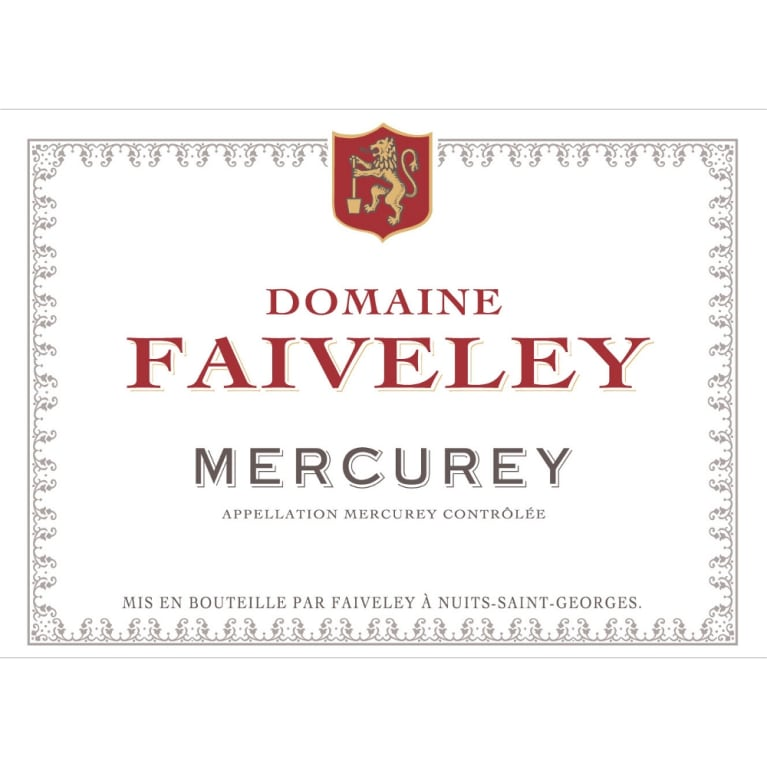 Domaine Faiveley Mercurey Rouge 2012 Front Label